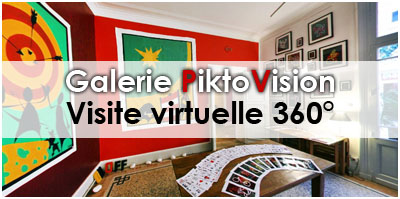 Titre Galerie PiktoVision Visite Virtuelle